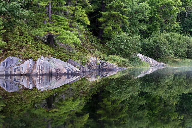 A lake in Northwestern Ontario