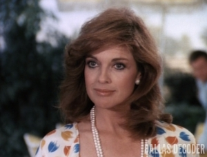 Linda Gray as Sue Ellen Ewing on Dallas